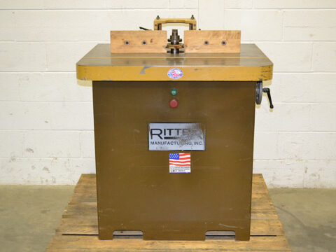 Ritter R10125753 7.5HP Single Spindle Shaper